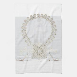 Pristine White Dress Kitchen Towel