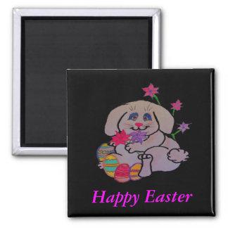 Pritty Bunny Fridge Magnets