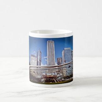Pritzker Pavilion and Great Lawn Chicago, Il. Mug