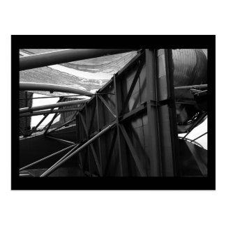 pritzker pavilion :: winter (b&w) postcard