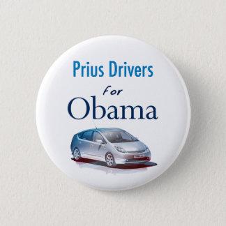 Prius Drivers for Obama Button