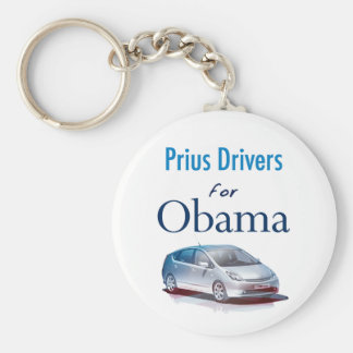 Prius Drivers for Obama Keychain