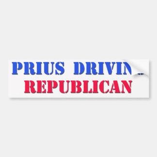 priusdrivingrepublican pegatina para auto