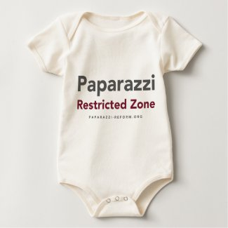 Privacy Wanted and Paparazzi Restricted Zone shirt