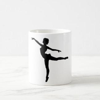 ~ PRIVADO del BAILARÍN (silueta - danza moderna) Taza Clásica