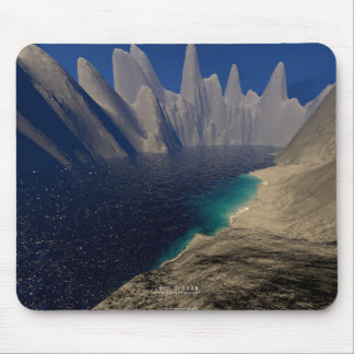 Private Beach Mouse Pad