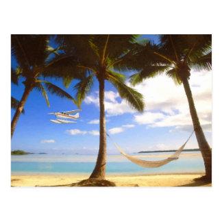 Private Beach Postcard