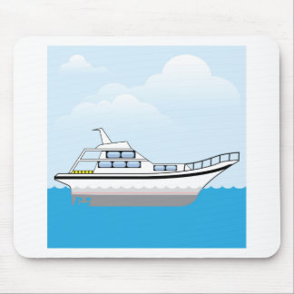 Private Boat Mouse Pad