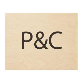 Private & Confidential.ai Wood Prints