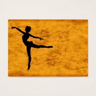 PRIVATE DANCER (silhouette - modern dance) ~ Business Card
