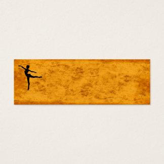 PRIVATE DANCER (silhouette - modern dance) ~ Mini Business Card