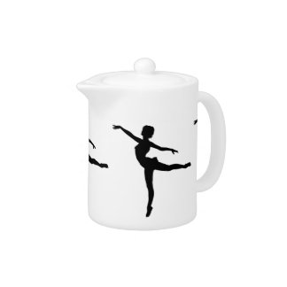 PRIVATE DANCER (silhouette - modern dance) ~ Teapot