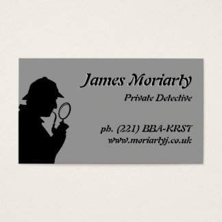 Private Detective/Investigator Business Card
