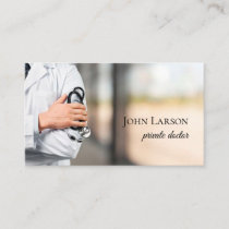 Private Doctor Medical Care Clinic Business Card