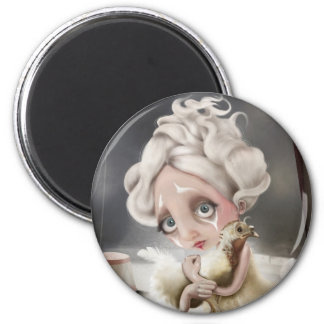 Private enchantment 2 inch round magnet
