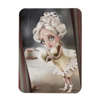 Private enchantment rectangular photo magnet