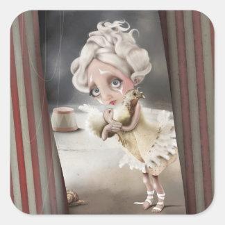 Private enchantment square sticker