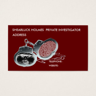 Private Eye Business Card