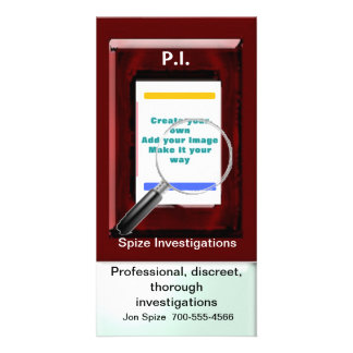 Private eye card