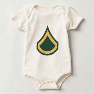 Private First Class Baby Bodysuit
