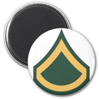 Private First Class 2 Inch Round Magnet