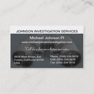Private investigator business cards zazzle private investigation business card colourmoves