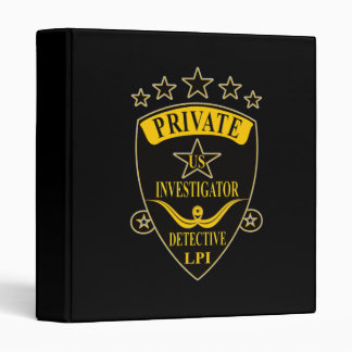 Private Investigator Binder