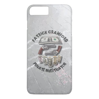 Private Investigator Detective With Guns And Money iPhone 8 Plus/7 Plus Case
