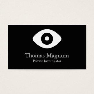 Private Investigator Eye Business Card