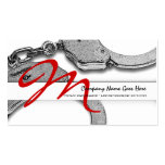 Private Investigator law detective enforcement Business Card Templates