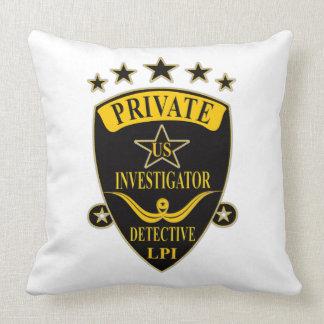 Private Investigator Pillow