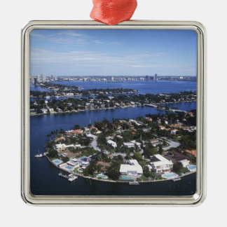 Private Island homes of Biscayne Bay, Star Metal Ornament