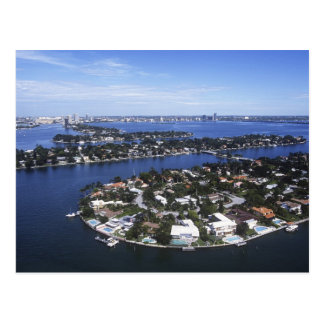 Private Island homes of Biscayne Bay, Star Postcard