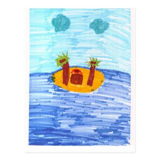 Private Island Postcard
