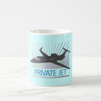 Private Jet Aircraft Coffee Mug