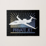 Private Jet Aircraft Jigsaw Puzzle