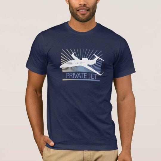 Private Jet Aircraft T-Shirt