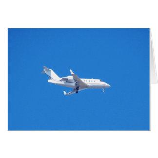 Private jet. card