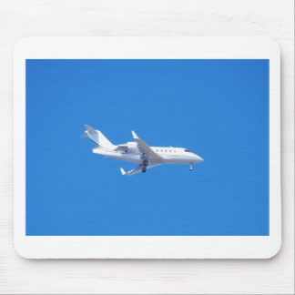 Private jet. mouse pad