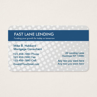 Private Lending Business Cards