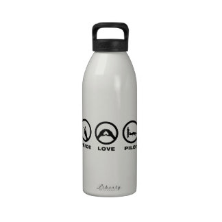 Private Licensed Pilot Water Bottle