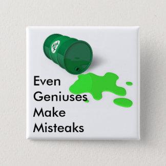 Private Mad Scientist Button