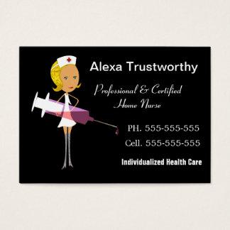 Nurse Nursing Service Business Cards & Templates | Zazzle