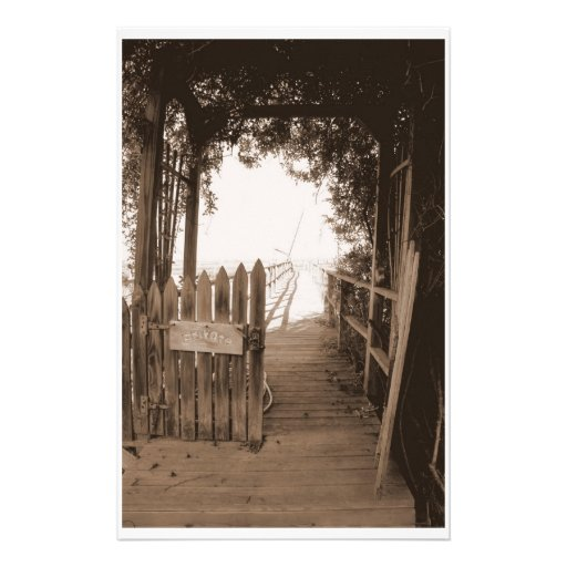 Private Pier Customized Stationery