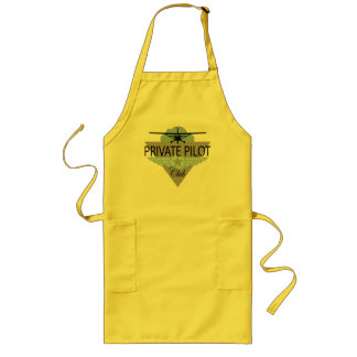 Private Pilot Club Long Apron