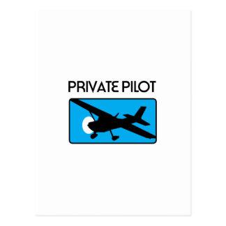 Private Pilot Post Cards