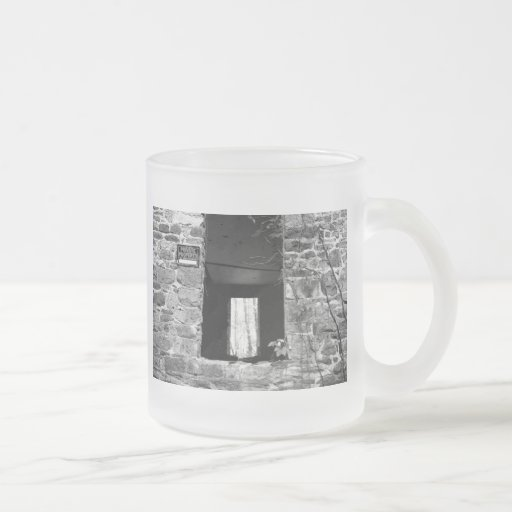 Private Property Frosted Glass Coffee Mug