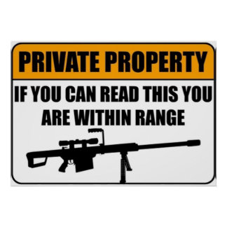 Private Property - If You Can Read This... Poster