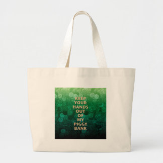 Private Property Piggy Bank Bags