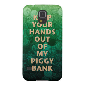 Private Property Piggy Bank Galaxy S5 Cases
